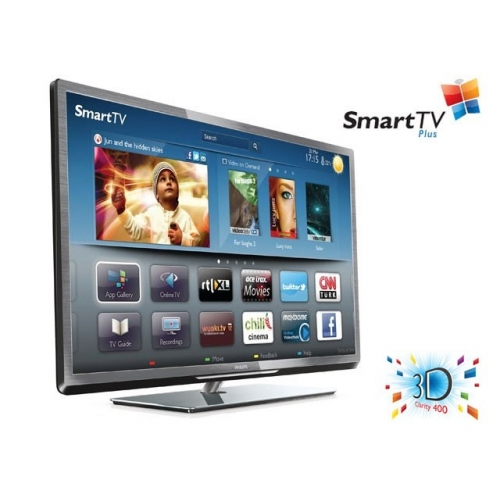 LED TV sprejemnik Philips 55PFL5507K (3D Max, Smart TV Plus, Pixel Plus HD, Wi-Fi vgrajen, DVB-T/C/S2)
