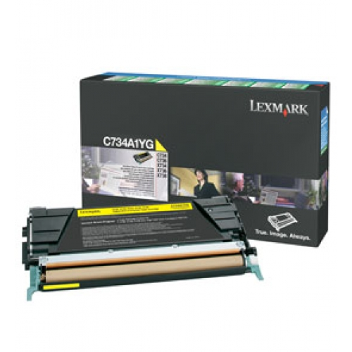 Toner C73X/X73X Yellow 6k