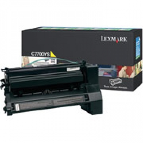 Toner C770/C772 Yellow 6k