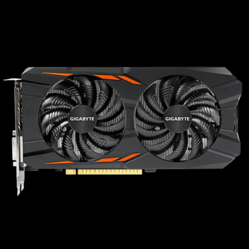 GIGABYTE grafična kartica GTX 1050 Windforce OC, 2GB GDDR5, PCI-E 3.0