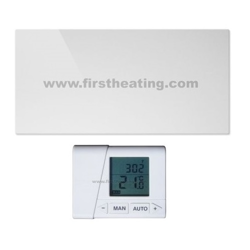 IR grelni panel First Heating WIST Elegant Ogledalo 1000 W +termostat (1200x60x3,5)