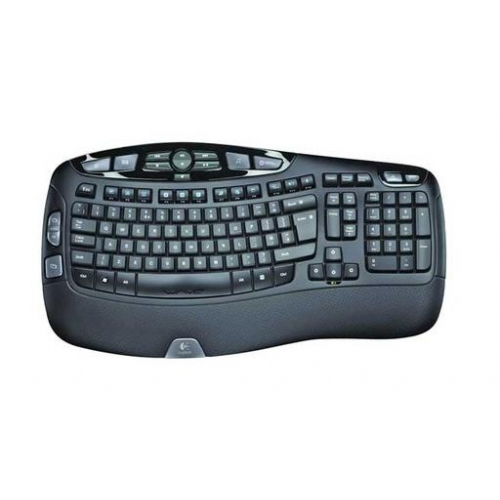 Tipkovnica Logitech Wireless Keyboard K350 Wave, Unifying, SLO g. OEM KEYLOR089