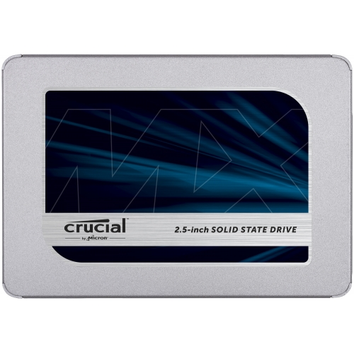 "SSD 250GB 2.5"" SATA3 3D TLC, 7mm, CRUCIAL MX500 SSDCRU083"