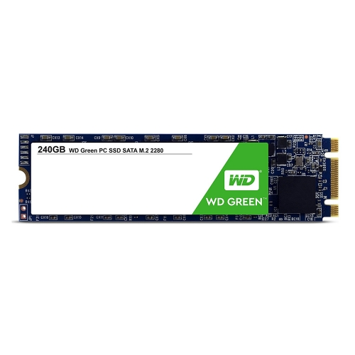 SSD 240GB M.2 80mm 2280 SS SATA3 3D TLC, WD Green SSDWDC004