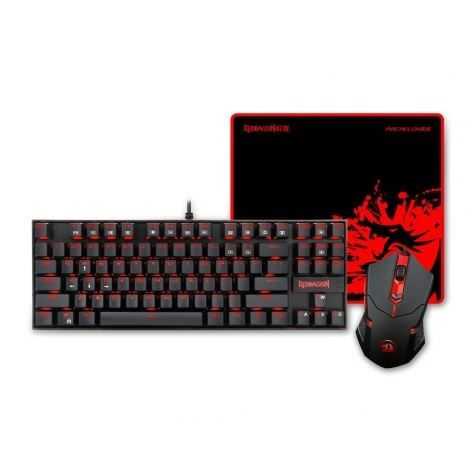 GAMING SET 3 IN 1 COMBO REDRAGON K552-BA