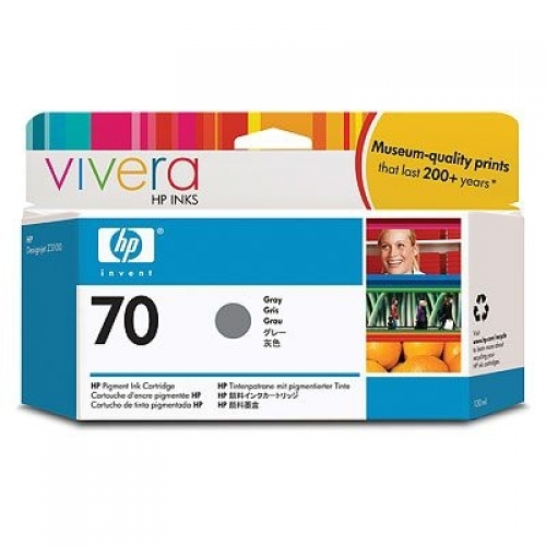 HP 70 130-ml Grey Ink Cartridge YC9450A