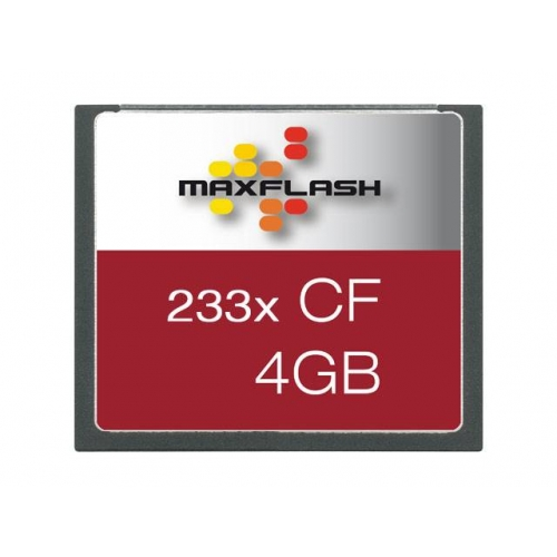 Spominska kartica Compact Flash (CF) 4GB Max-Flash (233x)