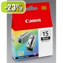 ČRNILO CANON BCI-15 ČRNO ZA I70/I80/PIXMA IP90, 450 STRANI (8190A002AF)