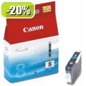 ČRNILO CANON CLI-8 CYAN ZA iP3300/iP4200/4300/iP5200/5300/6600/6700 13ml 067271