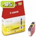 ČRNILO CANON CLI-8 RUMENO ZA iP3300/iP4200/4300/iP5200/5300/6600/6700 13ml (0623B001AF)