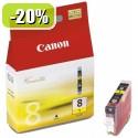 ČRNILO CANON CLI-8 RUMENO ZA iP3300/iP4200/4300/iP5200/5300/6600/6700 13ml 067273