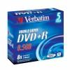 MEDIJ DVD+R VERBATIM  5PK široke škatlice (43541)