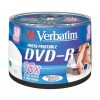 MEDIJ DVD-R VERBATIM 50PK printable tortica (43533)