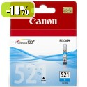 ČRNILO CANON CLI-521 CYAN ZA IP3600/4600/MP540/MP620 ZA 12ml 086177