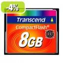 CF TRANSCEND 8GB 133X, 50/20MB/s, MLC 091519
