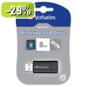USB ključ VERBATIM PIN 8 GB črn 096768