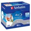 MEDIJ BD-R VERBATIM 10PK printable široke škatlice 100486