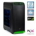 Namizni računalnik PCX EXACT i5-9400F/16GB/SSD500GB/1TB/GTX1660-6GB
