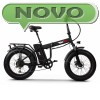 Električno zložljivo kolo ˝fatbike˝  RKS RSII-L ČRN