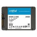 """SSD 240GB 2.5"""" SATA3 3D TLC, 7mm, CRUCIAL BX500 SSDCRU091"""