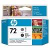 HP 72 Gray and Photo Black Printhead YC9380A