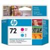 HP 72 Magenta and Cyan Printhead YC9383A