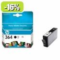 HP 364 Black Ink Cartridge with vivera Ink YCB316EE