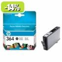 HP 364 Photo Black Ink cartridge with vivera ink YCB317EE