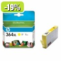 HP 364XL Yellow Ink Cartridge with Vivera Ink YCB325EE