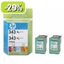 HP 343 2XcC8766EE Pack YCB332EE