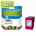 HP 300XL Tri-color Ink Cartridge YCC644EE